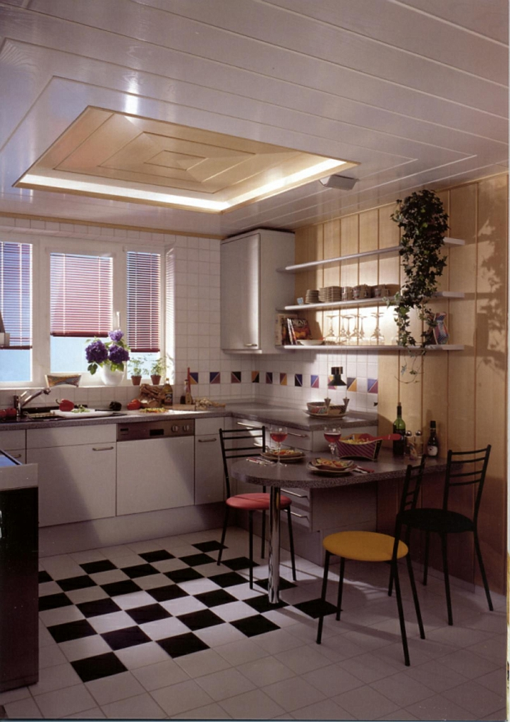 decke wand showroom. Black Bedroom Furniture Sets. Home Design Ideas