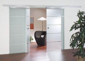 schiebet r doppelt lilashouse. Black Bedroom Furniture Sets. Home Design Ideas